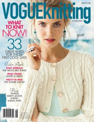 Vogue Knitting International Magazine - '13 Early Fall