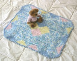 Knitting at Knoon Patterns - Nursery Blocks - Modular Baby Blanket Pattern