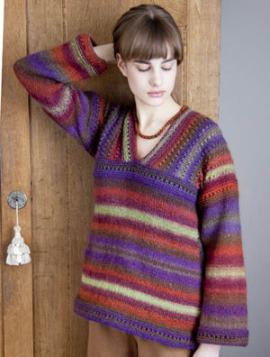 Wisdom Yarns Poems Millay Tunic Kit - Women's Pullovers