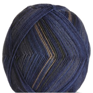 Regia Black and Blue Color 4ply Yarn - 8834 Cliff