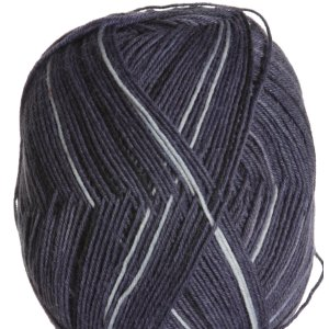 Regia Black and Blue Color 4ply Yarn - 8841 Stone