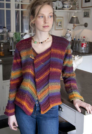 Wisdom Yarns Poems Chunky Wilcox Cardigan Kit - Women's Cardigans