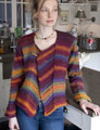Wisdom Yarns Poems Chunky Wilcox Cardigan Kit