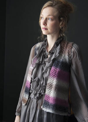 Wisdom Yarns Poems Silk Dickinson Vest Kit - Vests