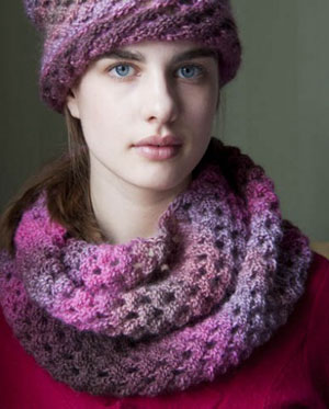 Wisdom Yarns Poems Walker Cowl Kit - Scarf and Shawls
