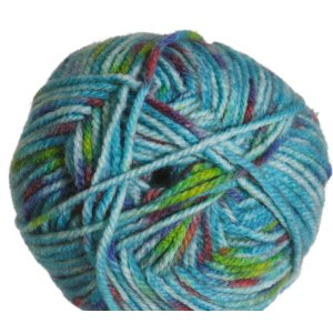 Plymouth Encore Worsted Colorspun Yarn - 7179 Turquoise Specs