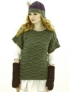 Sublime Chunky Merino Tweed Warrior Princess Pullover Kit - Women's Pullovers