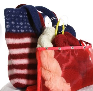 Jimmy Beans Wool Go USA Kits - Spangled Tote