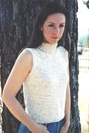 Knitting Pure and Simple Summer Sweater Patterns - 212 - Turtleneck Shell Pattern