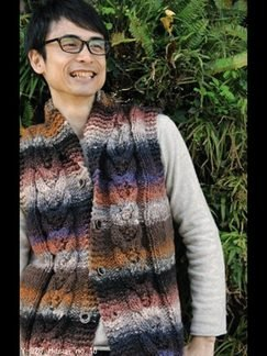Noro Hitsuji Gents Sleeveless Vest Kit - Mens Cardigans
