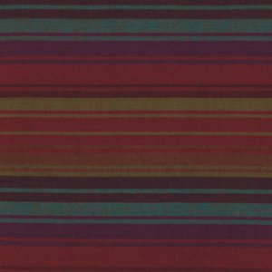 Kaffe Fassett Woven Stripe Fabric - Exotic Stripe - Parma