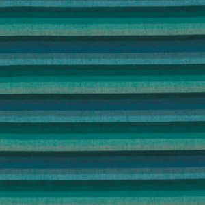 Kaffe Fassett Woven Stripe Fabric - Multi Stripe - Deep Sea
