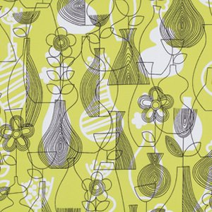 Erin McMorris Astrid Fabric - Lena - Chartreuse