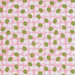 George Mendoza Martini Fabric - Olives - Apple