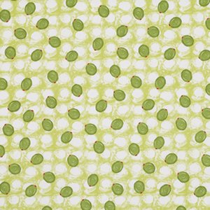 George Mendoza Martini Fabric - Olives - Blurazz