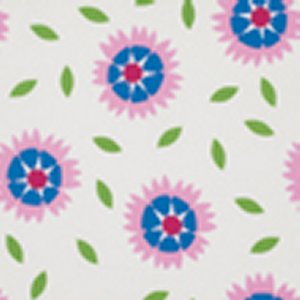 Jane Sassaman Wild Child Fabric - Gaillardia - Pink