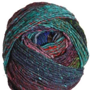 Noro Obi Yarn - 02 Jade, Red, Blue, Turquoise