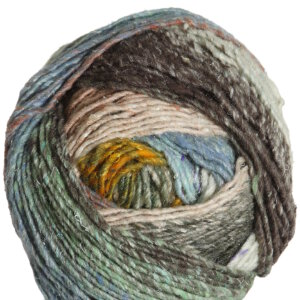 Noro Obi Yarn - 05 Sky, Caramel, Cream, Olive (Discontinued)