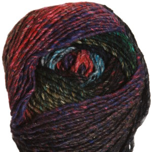Noro Obi Yarn - 09 Black, Red, Green, Turquoise (Discontinued)