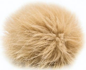 Universal Yarns Luxury Fur Pom-Pom - 102-06 Camel