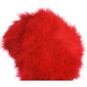 Universal Yarns Luxury Fur Pom-Pom - 103-07 Cranberry