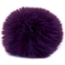 Universal Yarns Luxury Fur Pom-Pom  - 103-08 Purple