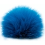 Universal Yarns Luxury Fur Pom-Pom - 103-09 Blue