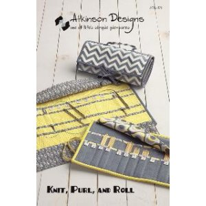 Atkinson Designs Pattern - Knit, Purl, and Roll Pattern