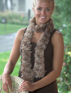 Plymouth Joy Prism Ruffle Scarf Kit - Scarf and Shawls