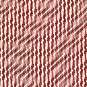 Denyse Schmidt Florence Fabric - Jagged Stripe - Carnelian