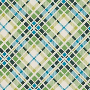 Denyse Schmidt Florence Fabric - Multi Plaid - Malachite