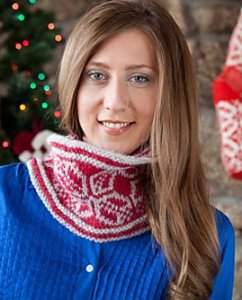 Blue Sky Alpacas Techno Snowflake Cowl Kit - Scarf and Shawls