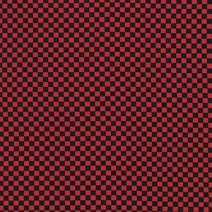 Luella Doss Fowl Play Fabric - Small Check - Red