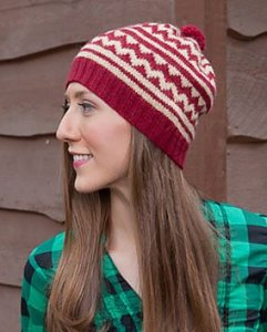 Classic Elite Fresco Peppermint Hat Kit - Hats and Gloves