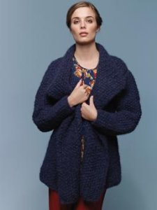 Rowan Tumble Pitch Cardigan Kit - Women's Cardigans