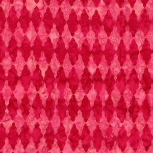 Michael Miller Fabrics Batiks Fabric - Diamonds in the Rough - Berry
