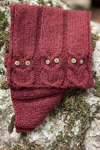 Plymouth Baby Alpaca Grande Hidden Picture Cowl Kit - Scarf and Shawls