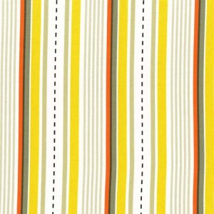 Michael Miller Fabrics Les Monsieurs Fabric - Racing Stripes - Khaki