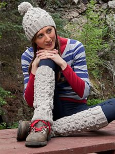 Classic Elite Crestone Inishmore Hat and Leg Warmers Set Kit - Hats and Gloves
