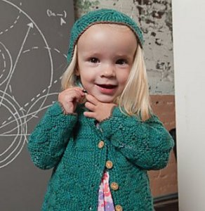 Cascade 220 Superwash Little Mary Anning Set Kit - Baby and Kids Cardigans