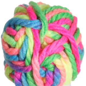 Red Heart Vivid Yarn - 6934 Neon Mix