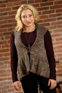 Plymouth Adult Vest Patterns - 2584 Woman's Swing Vest Pattern