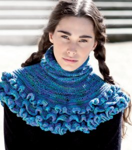 Araucania Nuble Ruffled - Ribbed Cowl Kit - Women's Accessories