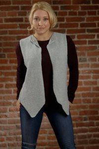 Plymouth Adult Vest Patterns - 2569 Woman's Vest Pattern
