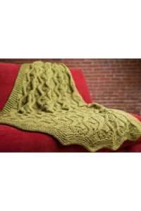 Plymouth Yarn Home Accessory Patterns - 2594 Afghan Pattern