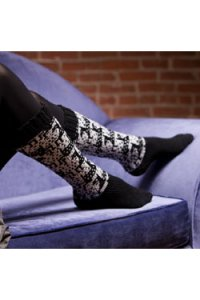 Plymouth Sock Patterns - 2573 Jumping Deer Socks Pattern