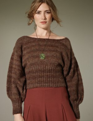 Rowan Colourspun Millet Sweater Kit - Women's Pullovers