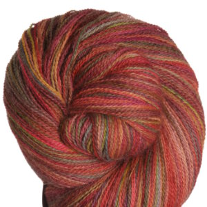 Misti Alpaca Hand Paint Lace Yarn - LP10 Red Rover