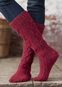 Rowan Felted Tweed McIntosh Boot Socks Kit - Socks