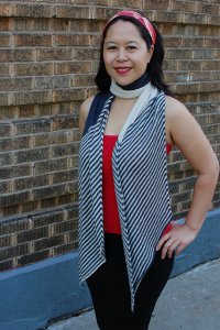 Getting Purly With It Patterns - Ellen Scarf Pattern